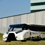 Solar-powered family car designed to travel over 1,000 kilometres on a single charge