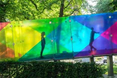 Shift Uses Coloured Film To Create Virtual Colours On Bernard