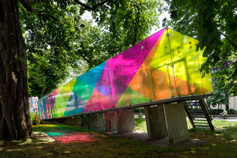 CMY Pavilion by Shift architecture urbanism