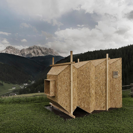 "Mariano Dallago's Camera Obscura creates a projected ""postcard"" of the Dolomites"
