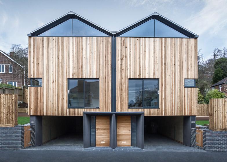 Cedar Lodges by Adam Knibb Architects