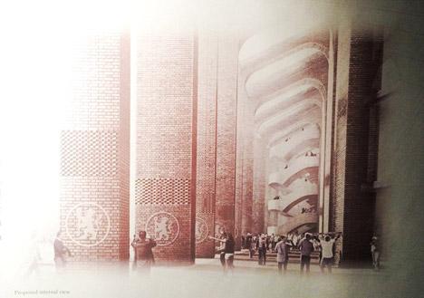 Chelsea FC Stamford Bridge stadium revamp by Herzog &amp de Meuron