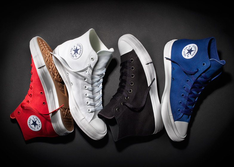 128ad33923 Converse unveils redesign of Chuck Taylor All Stars sneakers