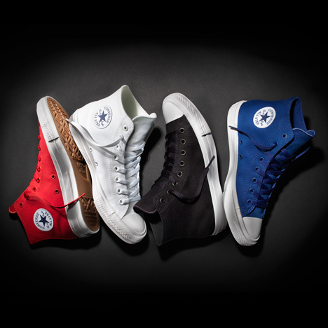 Converse unveils first redesign of classic Chuck Taylor All Star sneakers since the 1930s