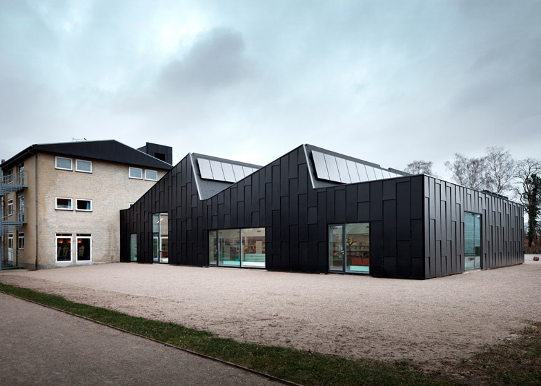 Culture House and Library, Allerød by Primus Arkitekter