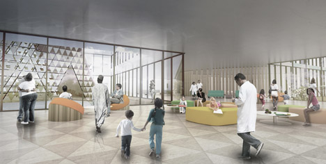 David Adjaye pediatric cancer centre in Gahanga Rwanda