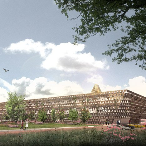 David Adjaye unveils designs for children's cancer treatment centre in Rwanda
