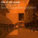 Job of the week: 3D visualiser at David Chipperfield Architects