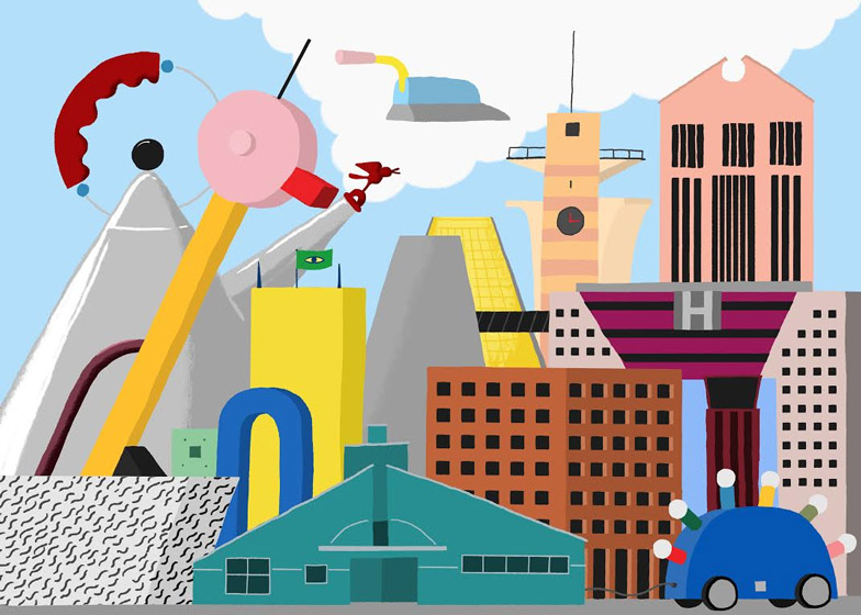 Postmodernism illustration by Daniel Frost