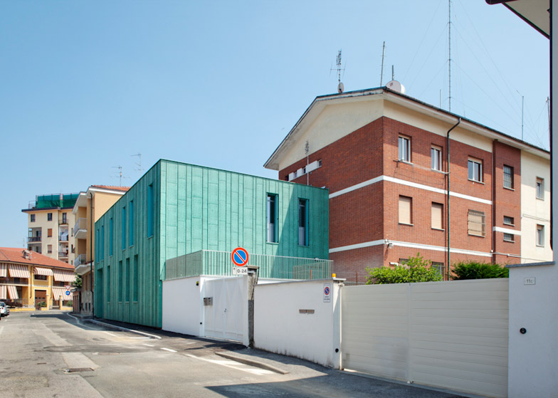 Expansion of the Carabinieri Station in Saluzzo