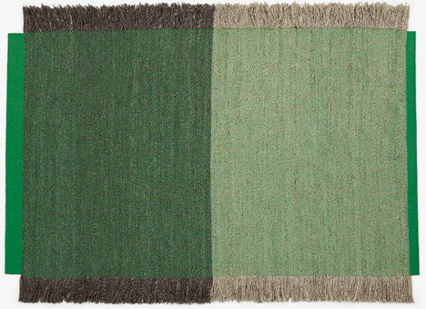 Fringe rug by Daniel Costa for Danskina