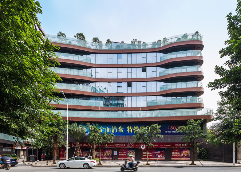 Fuzhou Shouxi building by Next Architects