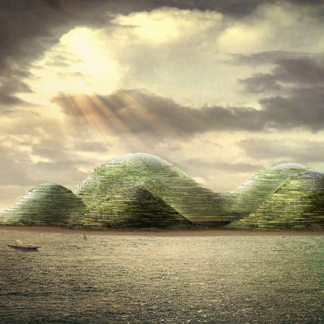 Studio Dror's HavvAda proposal for an artificial island
