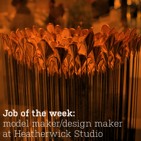 Heatherwick Studio's scale model of the London 2012 Olympic Cauldron
