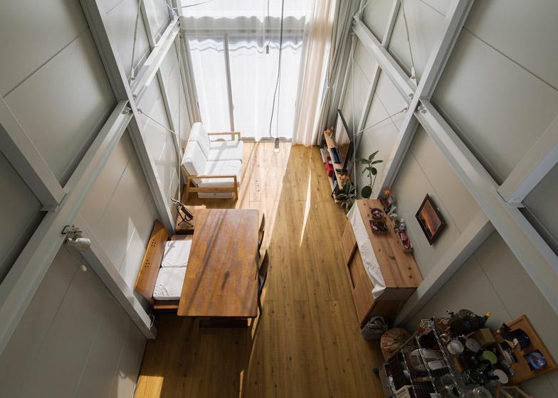 Kakko House by Yoshihiro Yamamoto is a 3.4-metre-wide home in Japan