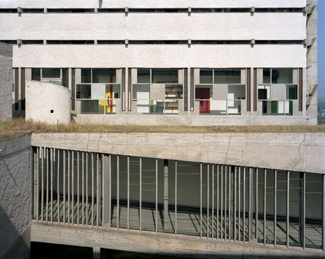 Le Corbusier's La Tourette photographed by Alicja Dobrucka
