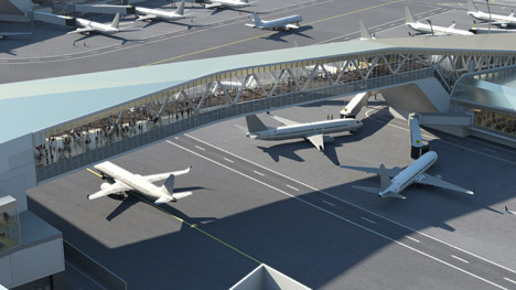 LaGuardia Airport, New York by Shop, Dattner and Present Architecture