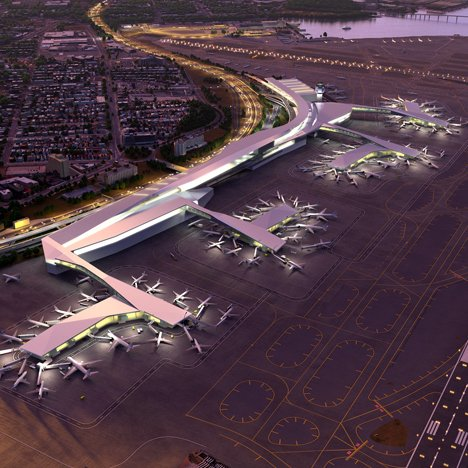 New York's LaGuardia Airport to be demolished and rebuilt using three different designs