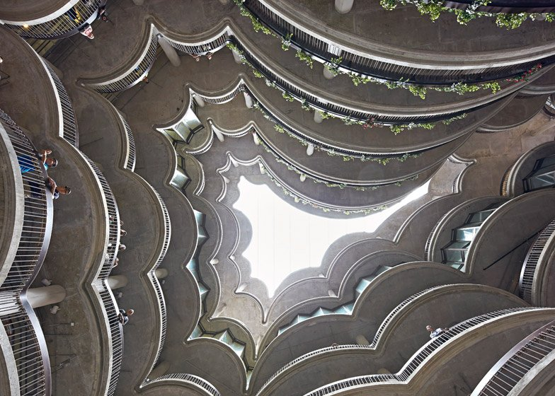 Heatherwick's Learning Hub at Nanyang Technological University in Singapore opened earlier this year