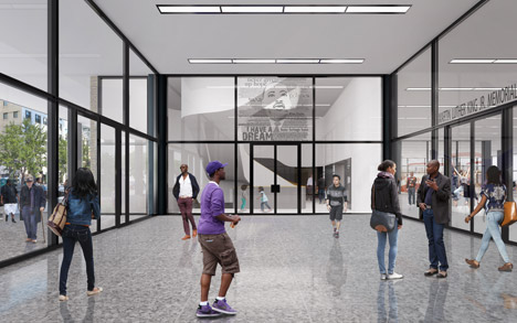 Mecanoo redesign of Mies van der Rohe's Martin Luther King Library