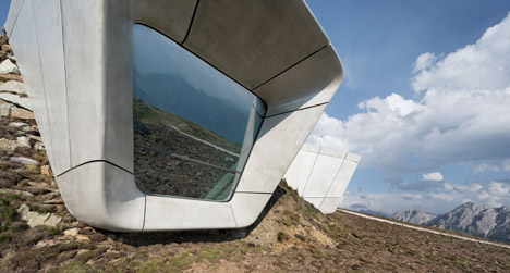Messner Mountain Museum Corones by Zaha Hadid Architects