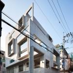 Studio GAON creates multiple frames on Seoul photography studio facade