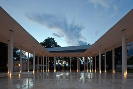 Montes Molina Pavilion by Materia Arquitectonica