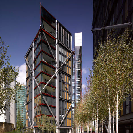 NEO Bankside, SE1 by Rogers Stirk Harbour + Partners