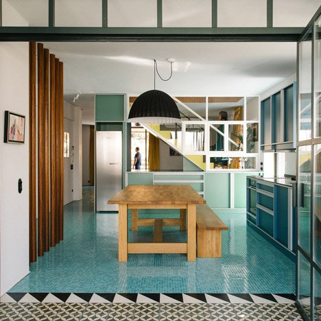 Point Supreme adds Postmodern touches to Nadja apartment in Athens