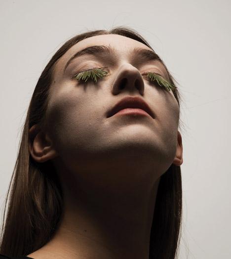 Natural eyelashes by Mary Graham