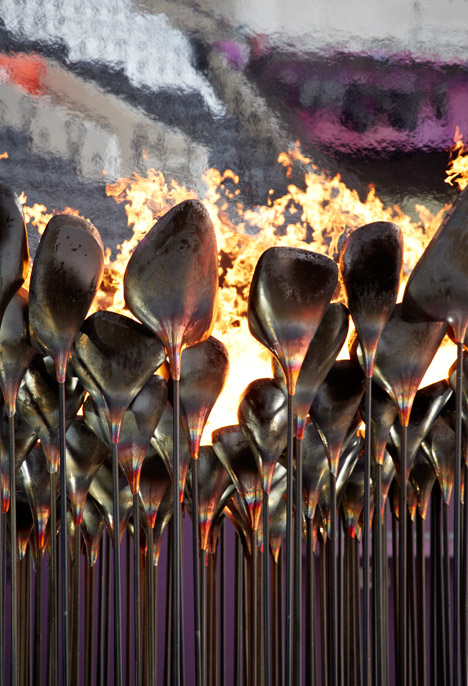 Olympic Cauldraon – photograph by Edmund Sumner