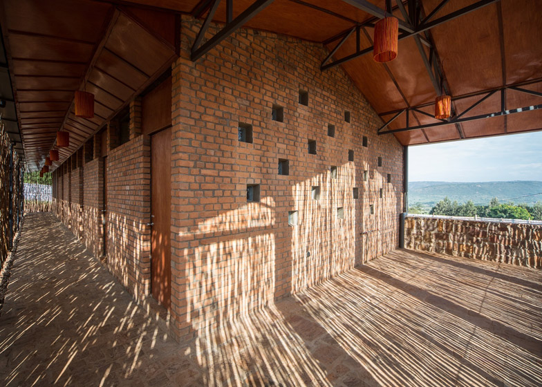 Partners in Health Dormitory in Rwanda by Sharon Davis Design