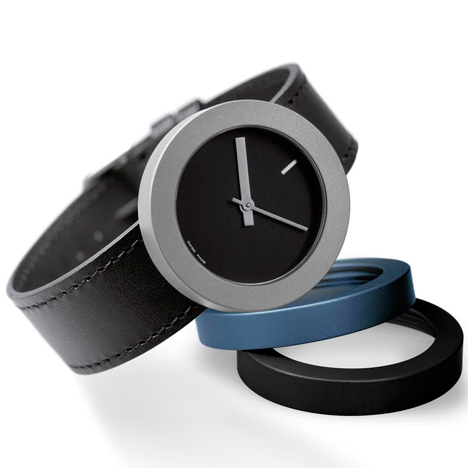 Pierre Junod Halo watch by Massimo Vignelli at Dezeen Watch Store