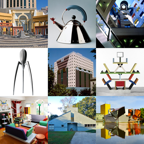 The Dezeen guide to Postmodern architecture and design