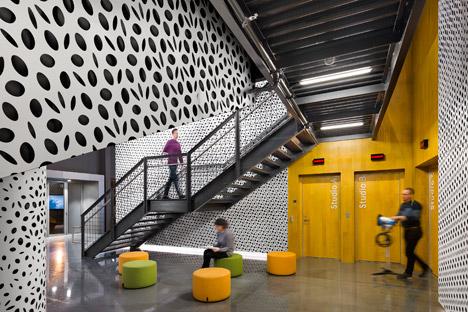 Wonderful Pratt Institute New Film And Video Building Interior By WASA Studio