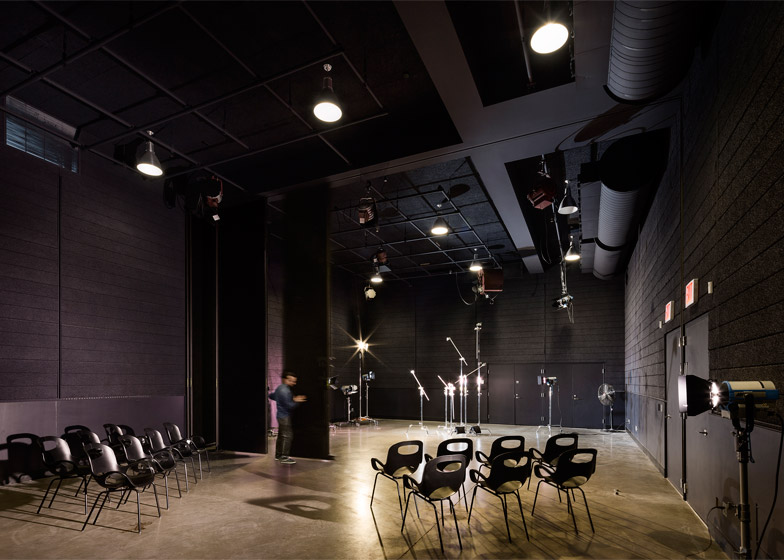 4 Of 8; Pratt Institute New Film And Video Building Interior By WASA Studio
