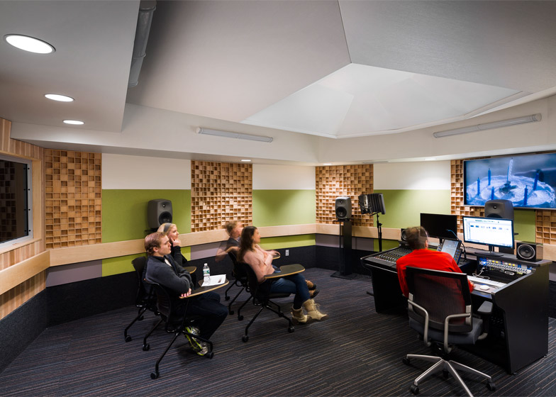 6 Of 8; Pratt Institute New Film And Video Building Interior By WASA Studio