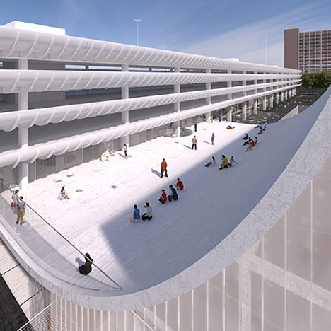 Youth centre proposals shortlisted for Brutalist Preston Bus Station refurbishment