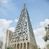 Daniel Libeskind gets green light for pyramid-shaped skyscraper in Jerusalem