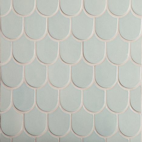 Walker Zanger's Robert A M Stern ceramic tiles are based on Postmodern architecture