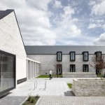 Gables and courtyards help children's hospital building by Keppie appear more welcoming