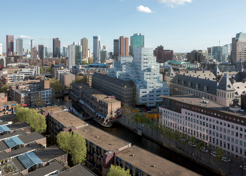 Competition five rotterdam architecture city books to be won for Architecture rotterdam