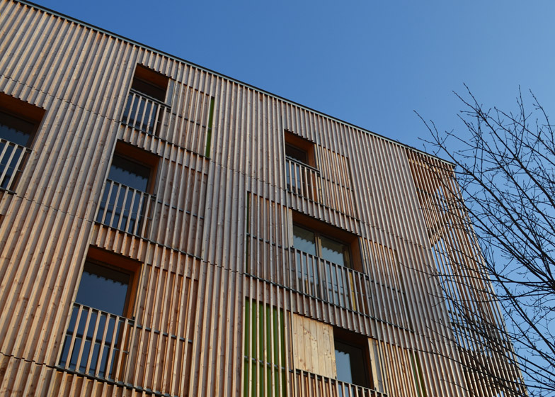 Rue Auvry housing by tectône architectes