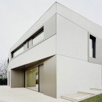 S3 House is a concrete and aluminium villa by Steimle Architekten