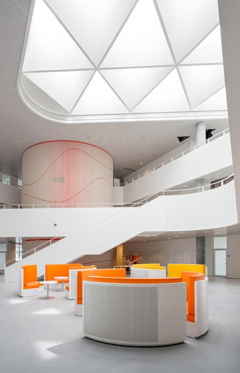 Kolding Campus Building at SDU by Henning Larsen