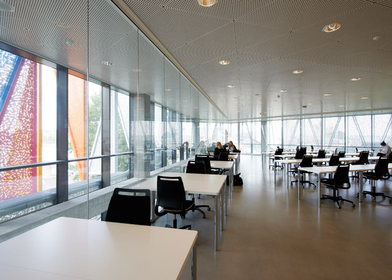 Kolding Campus Building at SDU by Henning Larsen