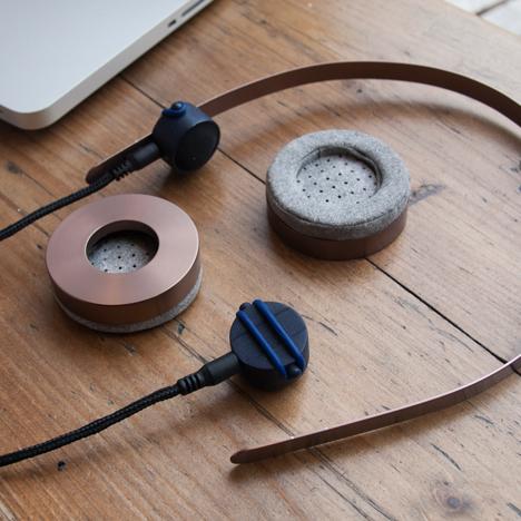 Safe+Sound headphones by Gemma Roper