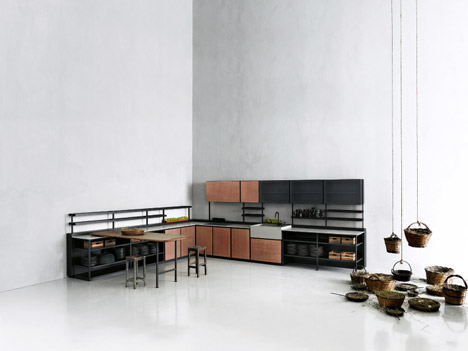 Salina's Kitchen by Patricia Urquiola for Boffi