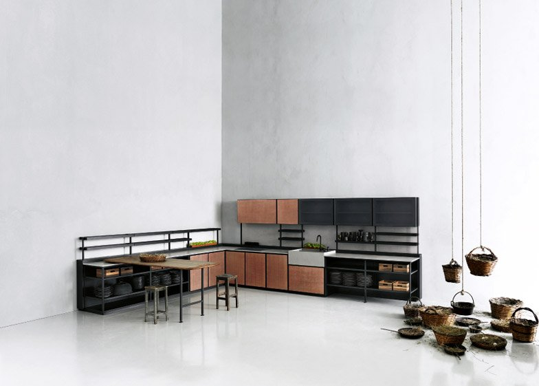 Salinas Kitchen by Patricia Urquiola for Boffi