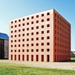 Postmodern buildings: San Cataldo Cemetery by Aldo Rossi